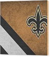 New Orleans Saints Wood Print