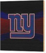 New York Giants Wood Print