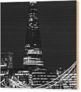 The Shard Wood Print