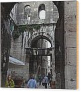 Views Of Split Croatia Wood Print