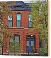 22 W Eugenie St Old Town Chicago Wood Print