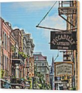 228 Charters New Orleans Wood Print