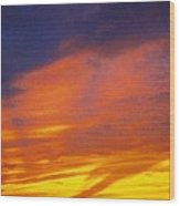 Sky Scape Wood Print
