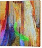 Abstract Series Iv Wood Print