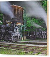 Cass Scenic Railroad Wood Print