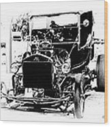 23 Ford Wood Print