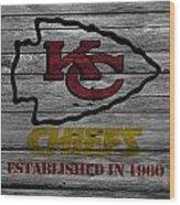 Kansas City Chiefs Wood Print