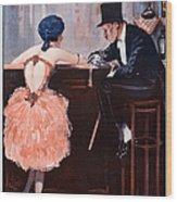 La Vie Parisienne  1920 1920s France Wood Print