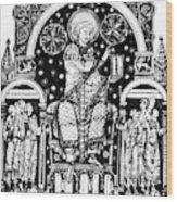 St Wood Print
