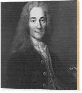 Voltaire (1694-1778) Wood Print