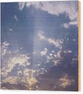 Sky Scape Wood Print