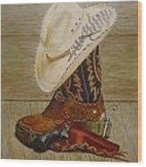 239 Larry Moreland's Stilllife Wood Print
