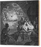 Boston Tea Party, 1773 Wood Print