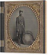Civil War Soldier, C1863 Wood Print