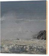 Clogher Beach Wood Print by Barbara Walsh