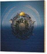 24 Hours In Jerusalem Wood Print