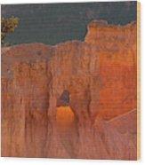 Usa, Utah, Bryce Canyon National Park Wood Print
