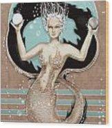 24x36 Choose Mermaid Wood Print