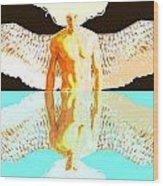 24x36 Reflective Angel Bb Wood Print
