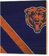 Chicago Bears Wood Print