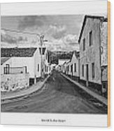 Over The Hills And Far Away Wood Print by Joseph Amaral