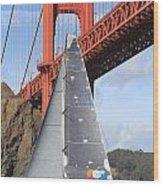 San Francisco Regatta Wood Print