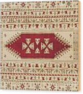 Turkish Carpet Wood Print