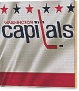 Washington Capitals Wood Print