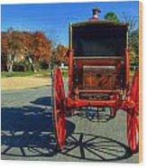 Williamsburg Virginia Usa Wood Print