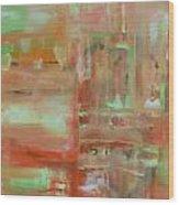 Abstract Exhibit Wood Print