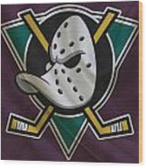 Anaheim Ducks Wood Print