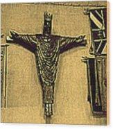 Church Jesus  Wood Print