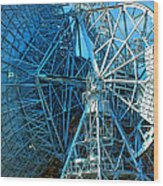 26 East Antenna Abstract 1 Wood Print