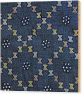 Motif From Antique Asian Textile (pr Wood Print