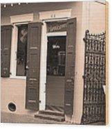 New Orleans - Bourbon Street 28 Wood Print