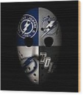 Tampa Bay Lightning Wood Print