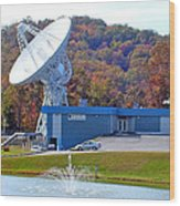 26 West Antenna And Research Building Wood Print