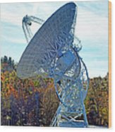 26 West Antenna At Pari Wood Print