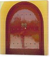 2631-door Wood Print