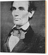 Abraham Lincoln (1809-1865) Wood Print