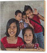 Ark Ruralkids.org Wood Print