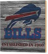 Buffalo Bills Wood Print