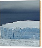 Iceberg, Antarctica Wood Print
