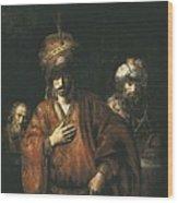 Rembrandt, Harmenszoon Van Rijn, Called Wood Print