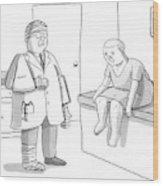 New Yorker February 2nd, 2009 Wood Print