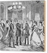 Andrew Johnson (1808-1875) Wood Print