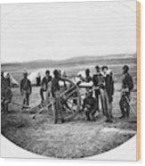 Civil War Black Troops Wood Print