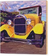 '28 Ford Pick Up Wood Print