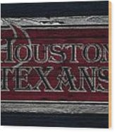 Houston Texans Wood Print