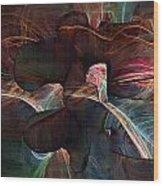 Lumbar Spine Wood Print